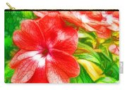 Impatiens Flower Carry-all Pouch