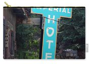 Imperial Hotel Sign In Cripple Creek Carry-all Pouch
