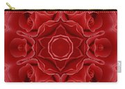 Imperial Red Rose Mandala Carry-all Pouch
