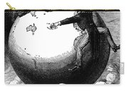 Imperialism Cartoon, 1876 - To License For Professional Use Visit Granger.com Carry-all Pouch