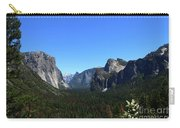 Imposing Alpine World - Yosemite Valley Carry-all Pouch