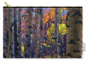Impression Of Fall Aspens Carry-all Pouch