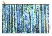 Impression Of Trees Carry-all Pouch
