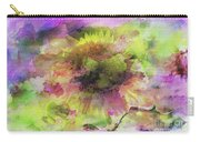 Impression Sunflower Carry-all Pouch