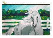 Impressionism Horse Carry-all Pouch