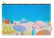 Impressionist Beach Painting Carry-all Pouch