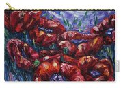 Impressionist Field Poppies Carry-all Pouch