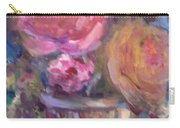 Impressionist Floral Art Carry-all Pouch