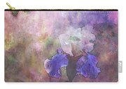 Impressionist Purple And White Irises 6647 Idp_2 Carry-all Pouch