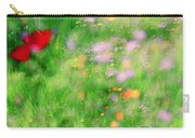 Impressionistic Blossom 5 At Britain Park Carry-all Pouch