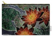 Impressionistic Lilies Carry-all Pouch