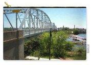 Impressionistic Llano Bridge Carry-all Pouch