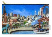 Impressions Of Chicago Carry-all Pouch by Robert Reeves