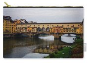 Impressions Of Florence - Ponte Vecchio Autumn Carry-all Pouch