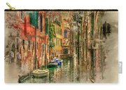 Impressions Of Venice Carry-all Pouch