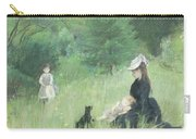 In A Park Carry-all Pouch by Berthe Morisot