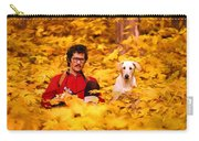 In A Yellow Wood - Paint Carry-all Pouch
