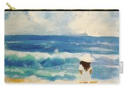 In Awe Of The Ocean Carry-all Pouch