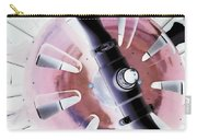 In Color Abstract 12 Carry-all Pouch