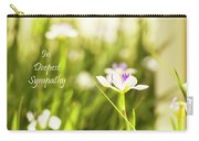 In Deepest Sympathy Carry-all Pouch
