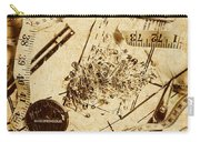 In Fashion Of Vintage Sewing Carry-all Pouch
