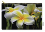 In Love With Butterflies Plumeria Flower Cecil B Day Butterfly Center Art Carry-all Pouch