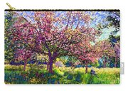 In Love With Spring, Blossom Trees Carry-all Pouch