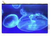 In The Blue - Jellyfish Carry-all Pouch