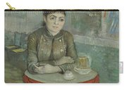 In The Cafe  Agostina Segatori In Le Tambourin Paris January  March 1887 Vincent Van Gogh 1853  Carry-all Pouch