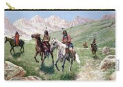 In The Cheyenne Country Carry-all Pouch