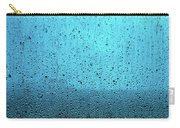 In The Dark Blue Rain Carry-all Pouch