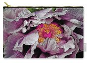 In The Eye Of The Peony Carry-all Pouch