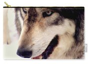 In The Eyes Of The Wolves Carry-all Pouch