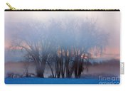 In The Fog At Sunrise Carry-all Pouch