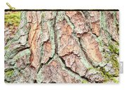 In The Forest Art Series - Tree Bark Patterns 1  Carry-all Pouch