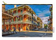 In The French Quarter - 2 Paint Carry-all Pouch