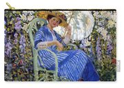 In The Garden Carry-all Pouch by Frederick Carl Frieseke