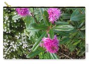 Hebe Bush In The Garden Carry-all Pouch