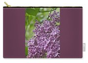 In The Garden. Lilac Carry-all Pouch