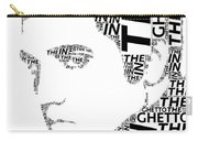 In The Ghetto Elvis Wordart Carry-all Pouch