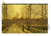 In The Golden Gloaming Carry-all Pouch by John Atkinson Grimshaw