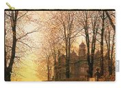 In The Golden Olden Time Carry-all Pouch by John Atkinson Grimshaw