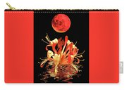 In The Heat Of The Night 2 Honeysuckle Red Moon Carry-all Pouch