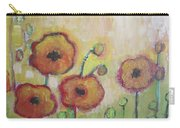 Poppies At Dusk Carry-all Pouch