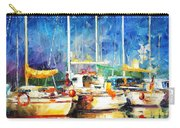 In The Port - Palette Knife Oil Painting On Canvas By Leonid Afremov Carry-all Pouch