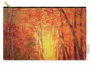 In The Presence Of Light Meditation Carry-all Pouch