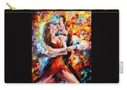 In The Rhythm Of Tango 2 - Palette Knife Oil Painting On Canvas By Leonid Afremov Carry-all Pouch