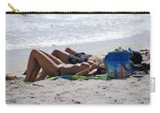 In The Sand At Paradise Beach Carry-all Pouch