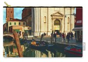 In The Waters Of The Many Venetian Canals Reflected The Majestic Cathedrals, Towers And Bridges Carry-all Pouch