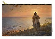 In The World Not Of The World Carry-all Pouch by Greg Olsen